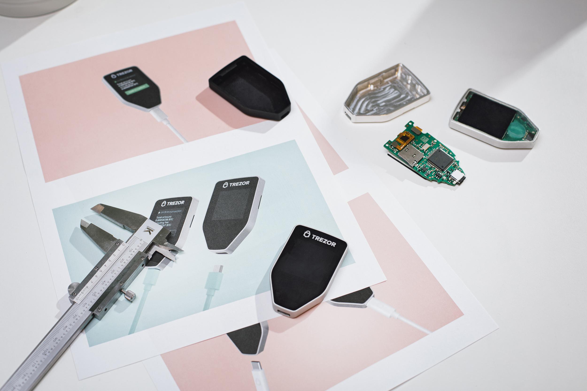 TREZOR project prototypes