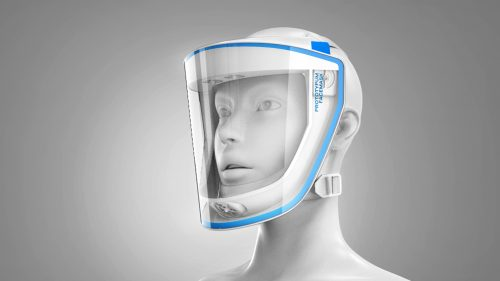 PROTOTYPUM FACEMASK: full-face protective mask for medics